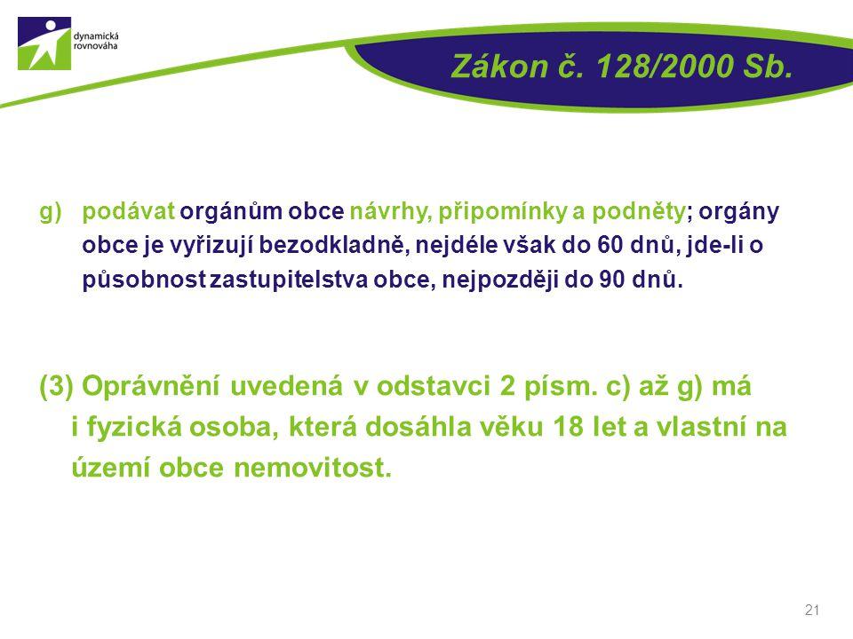 Zákon č. 128/2000 Sb.