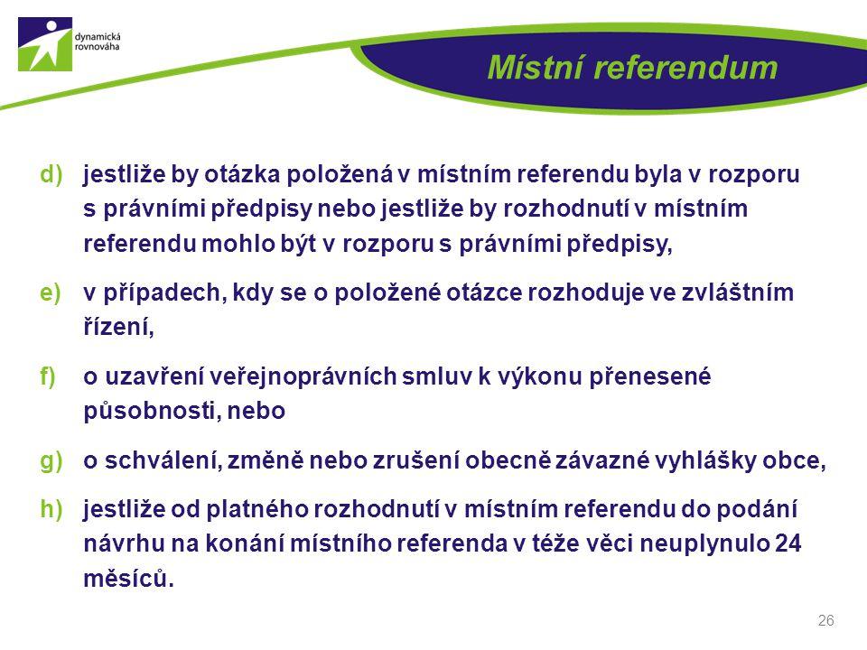 Místní referendum