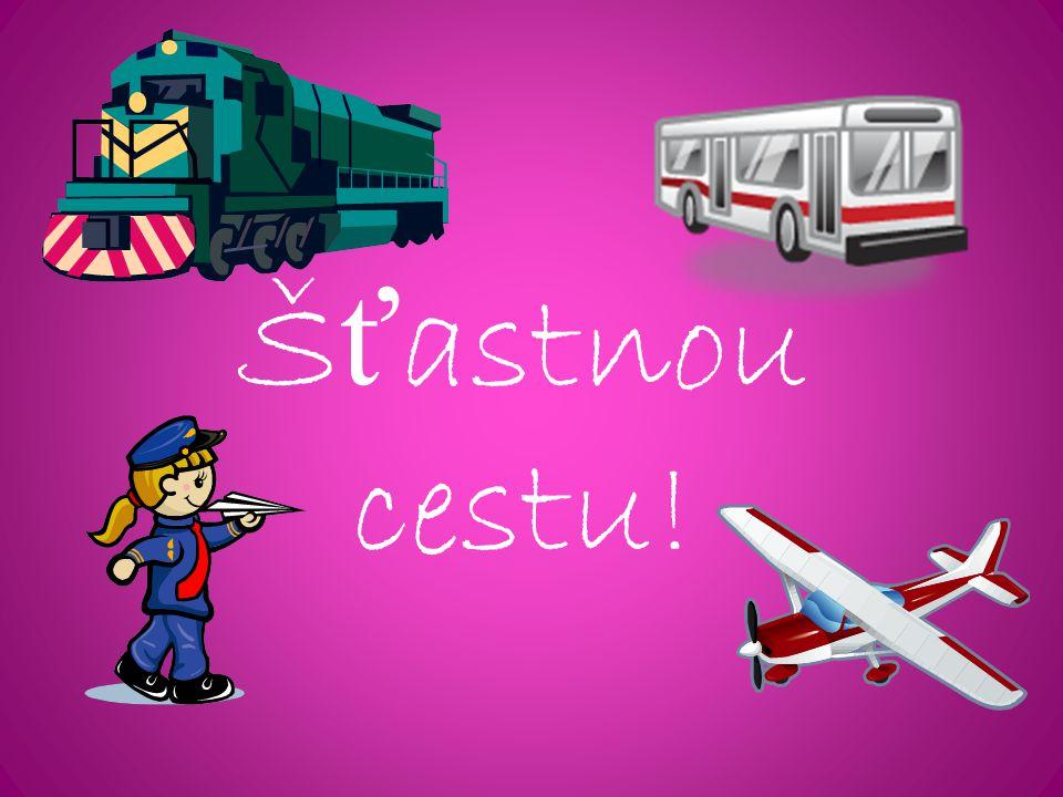 Šťastnou cestu!