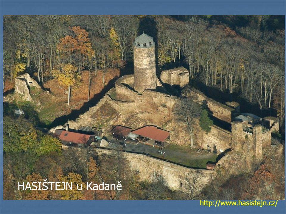 HASIŠTEJN u Kadaně http://www.hasistejn.cz/