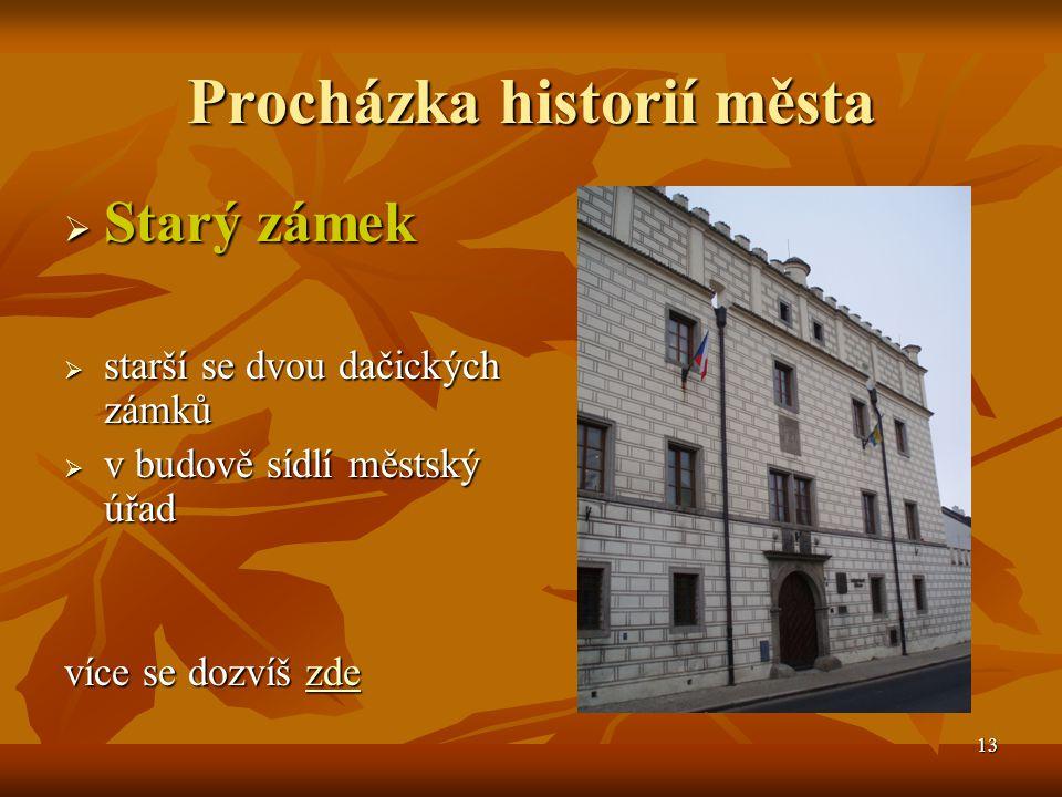 Procházka historií města