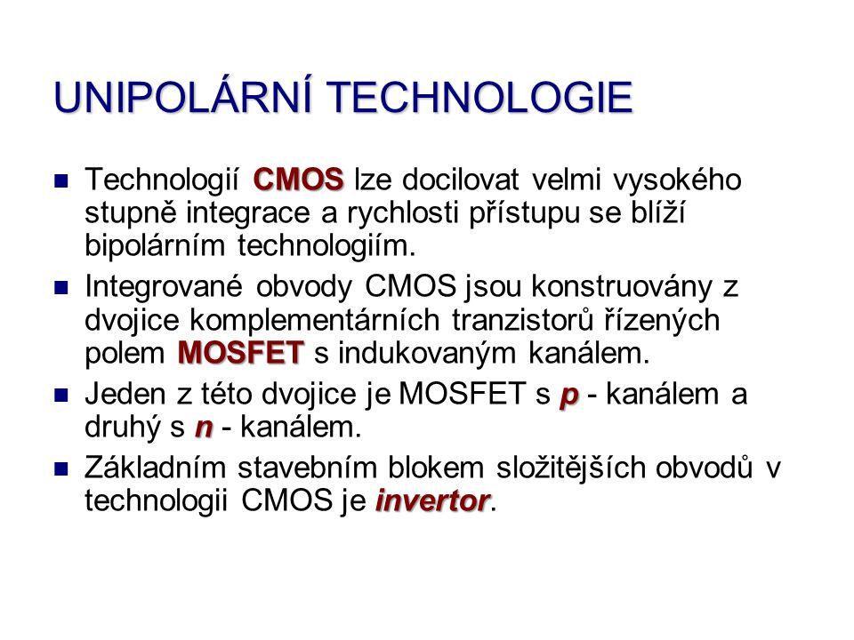 UNIPOLÁRNÍ TECHNOLOGIE