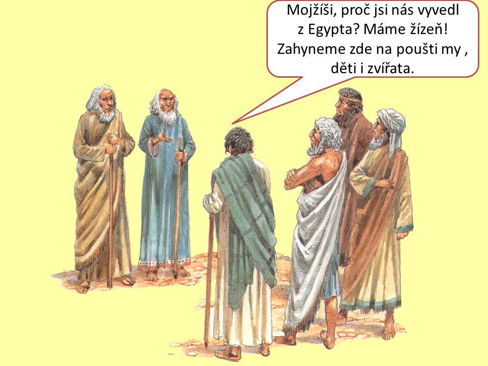 Mojžíši, proč jsi nás vyvedl