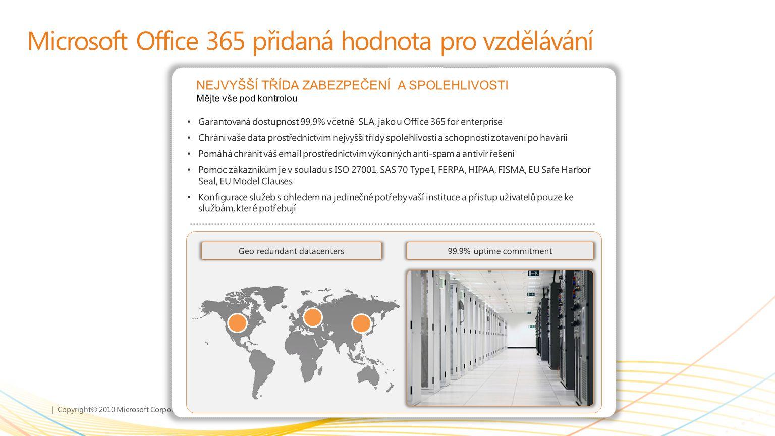 Microsoft Office 365 přidaná hodnota pro vzdělávání