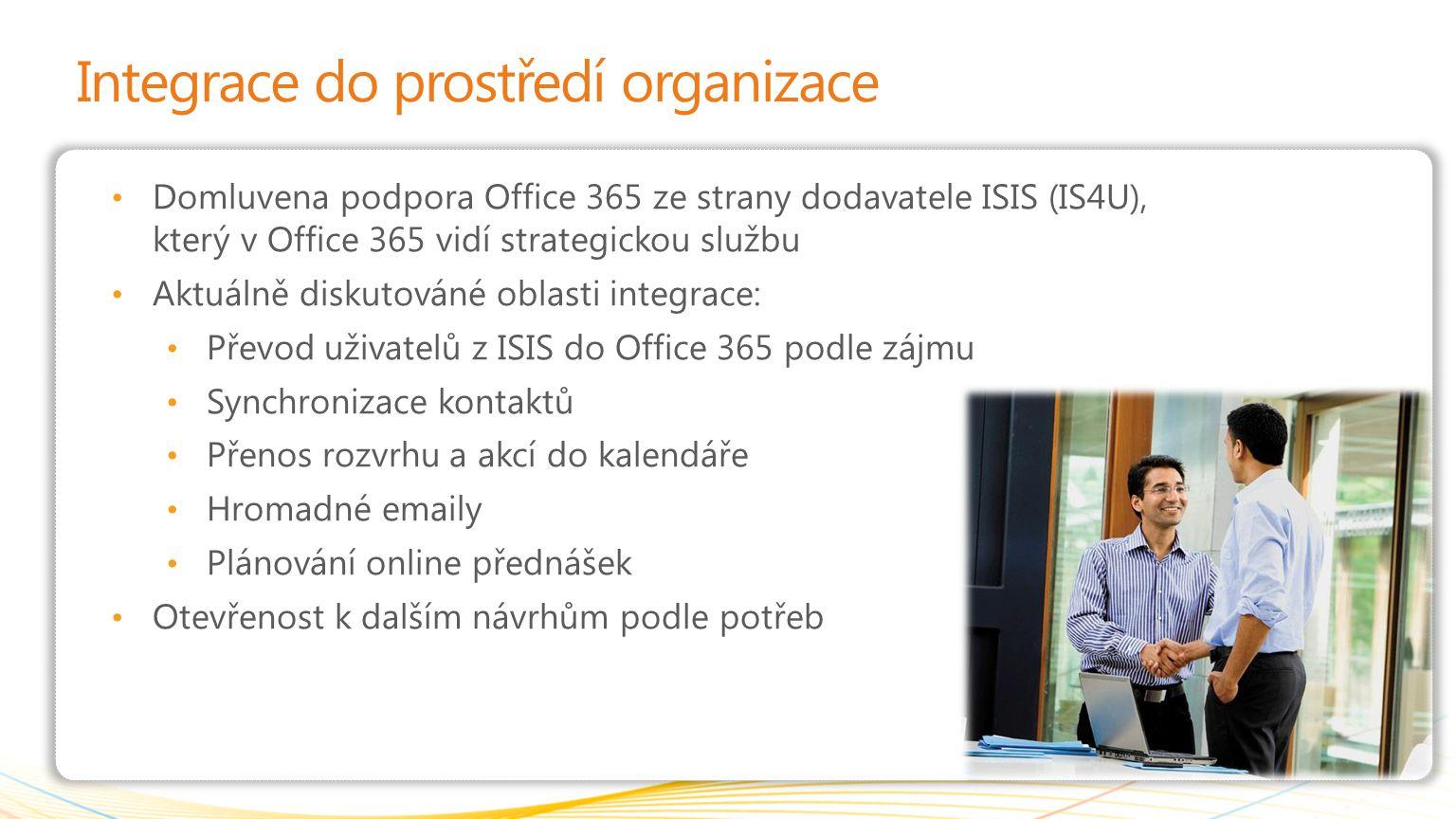 Integrace do prostředí organizace