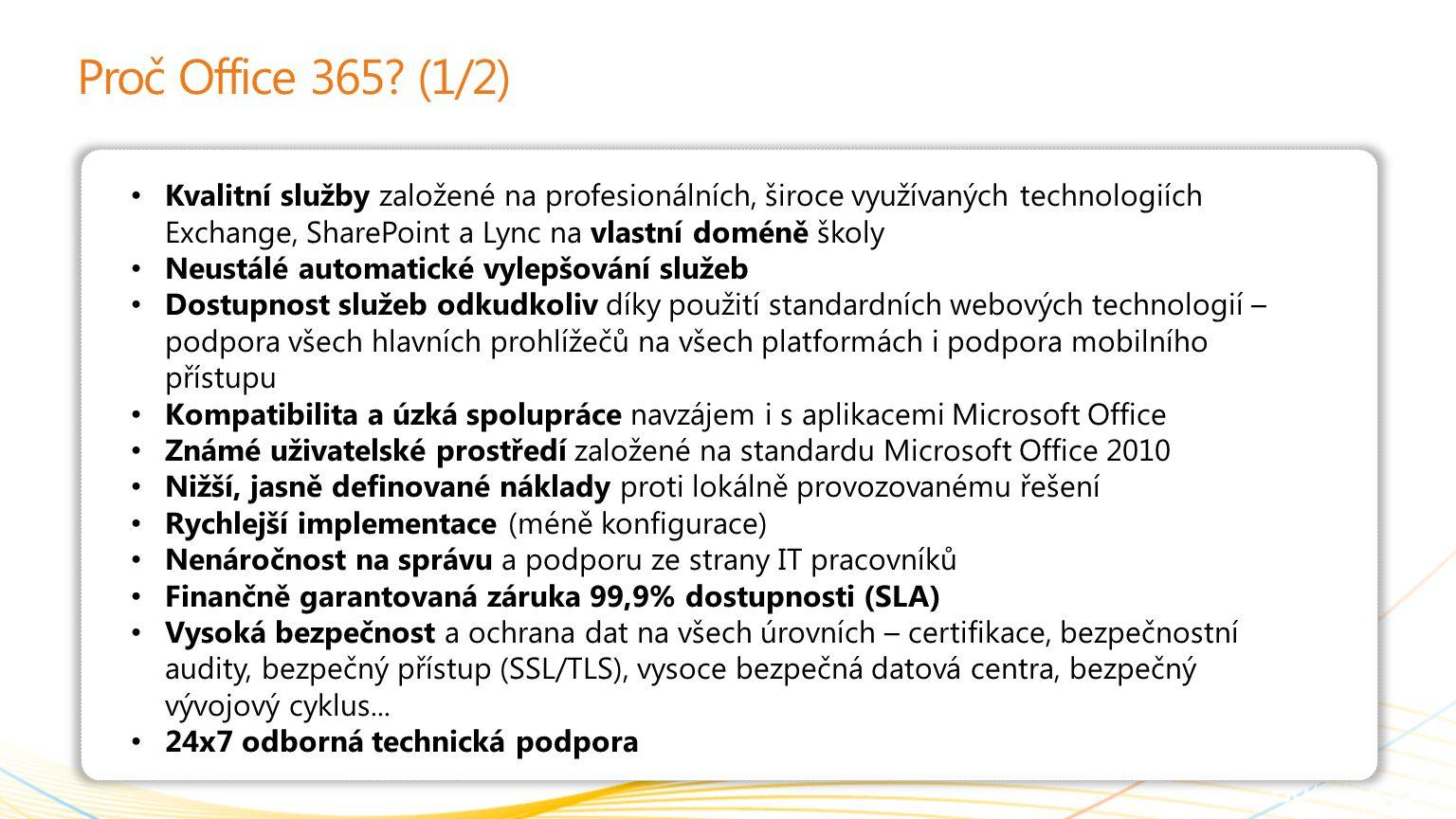 Proč Office 365 (1/2)