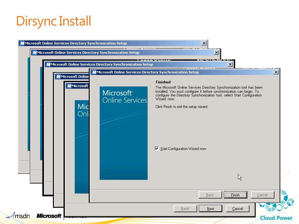 Dirsync Install