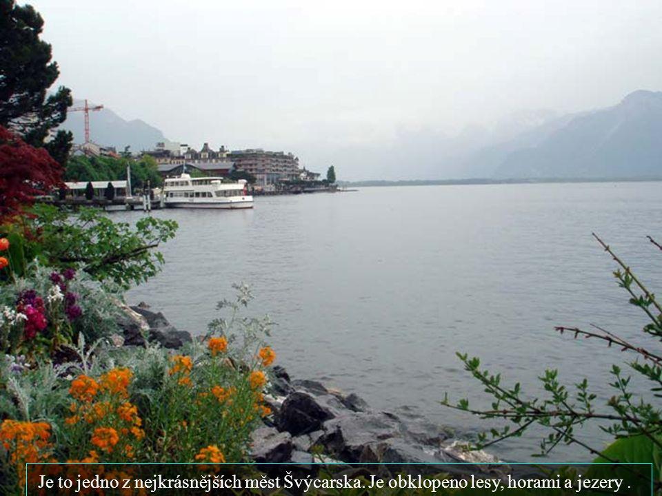 Je to jedno z nejkrásnějších měst Švýcarska