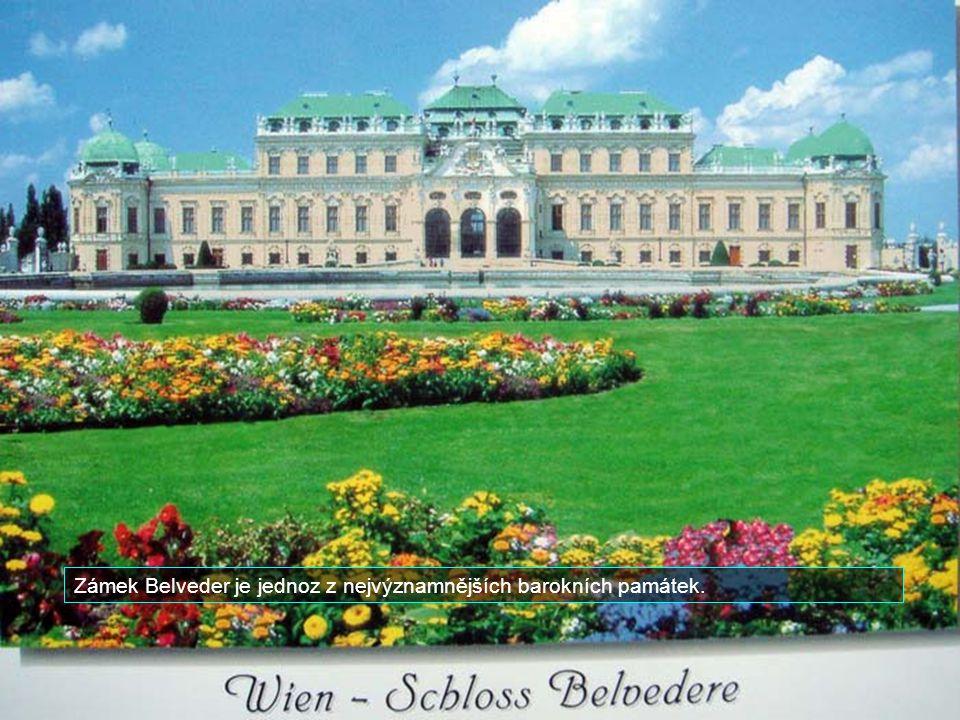 Zámek Belveder je jednoz z nejvýznamnějších barokních památek.