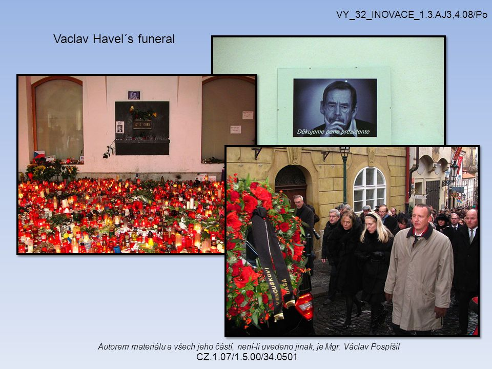 Vaclav Havel´s funeral