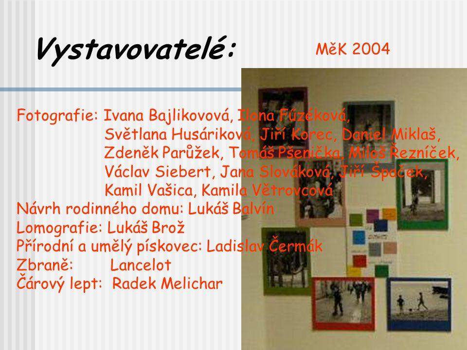 Vystavovatelé: MěK 2004 Fotografie: Ivana Bajlikovová, Ilona Fűzéková,
