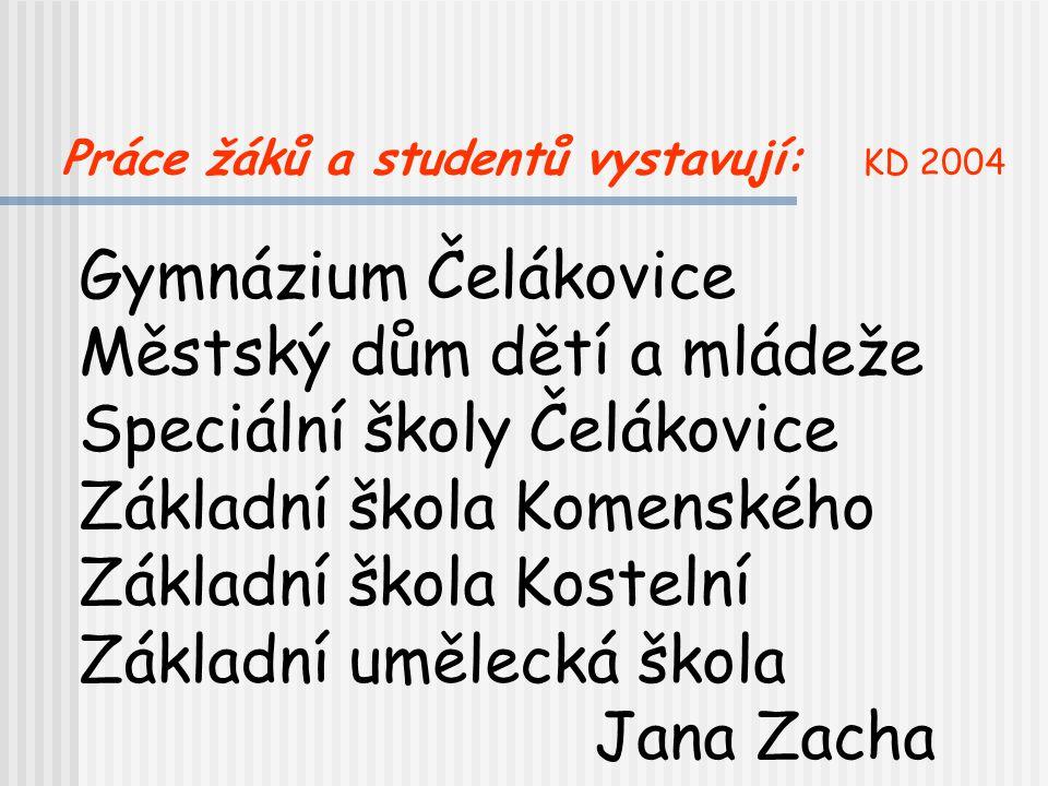 Městský dům dětí a mládeže Speciální školy Čelákovice