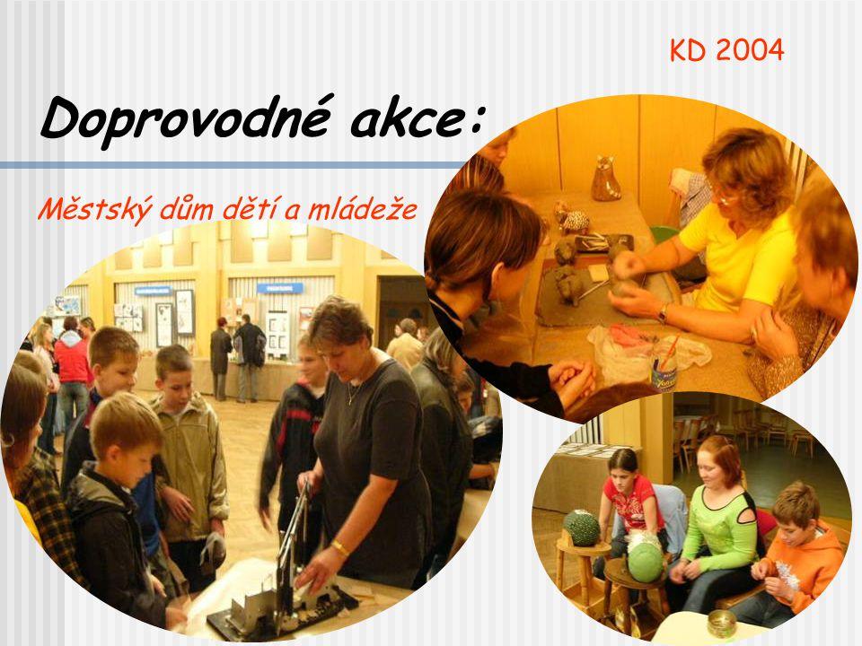KD 2004 Doprovodné akce: Městský dům dětí a mládeže