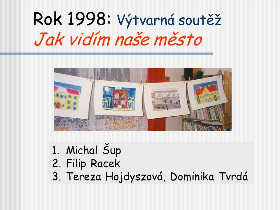 Rok 1998: Výtvarná soutěž Jak vidím naše město