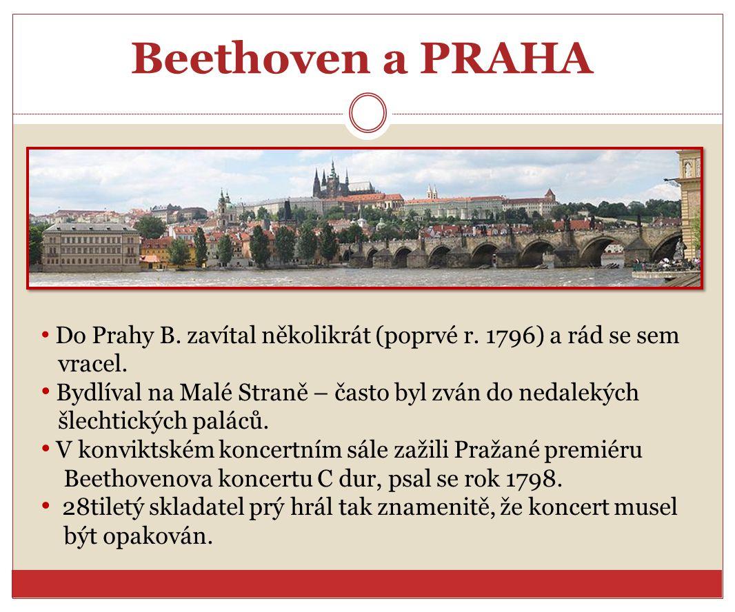 Beethoven a PRAHA vracel.