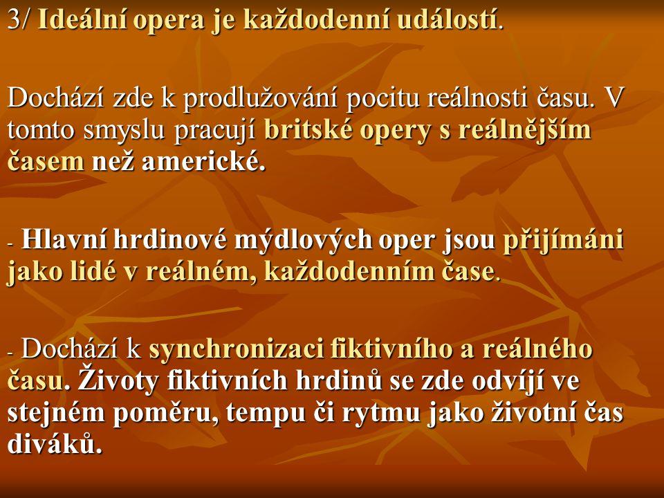 3/ Ideální opera je každodenní událostí.