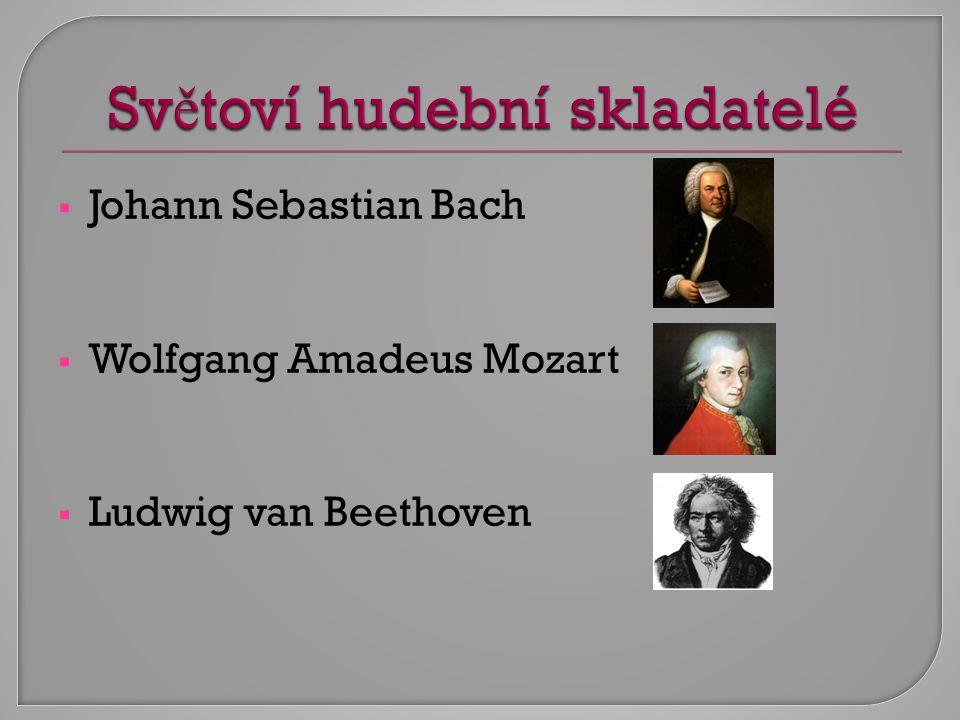 Světoví hudební skladatelé