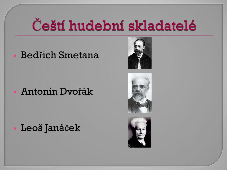 Čeští hudební skladatelé
