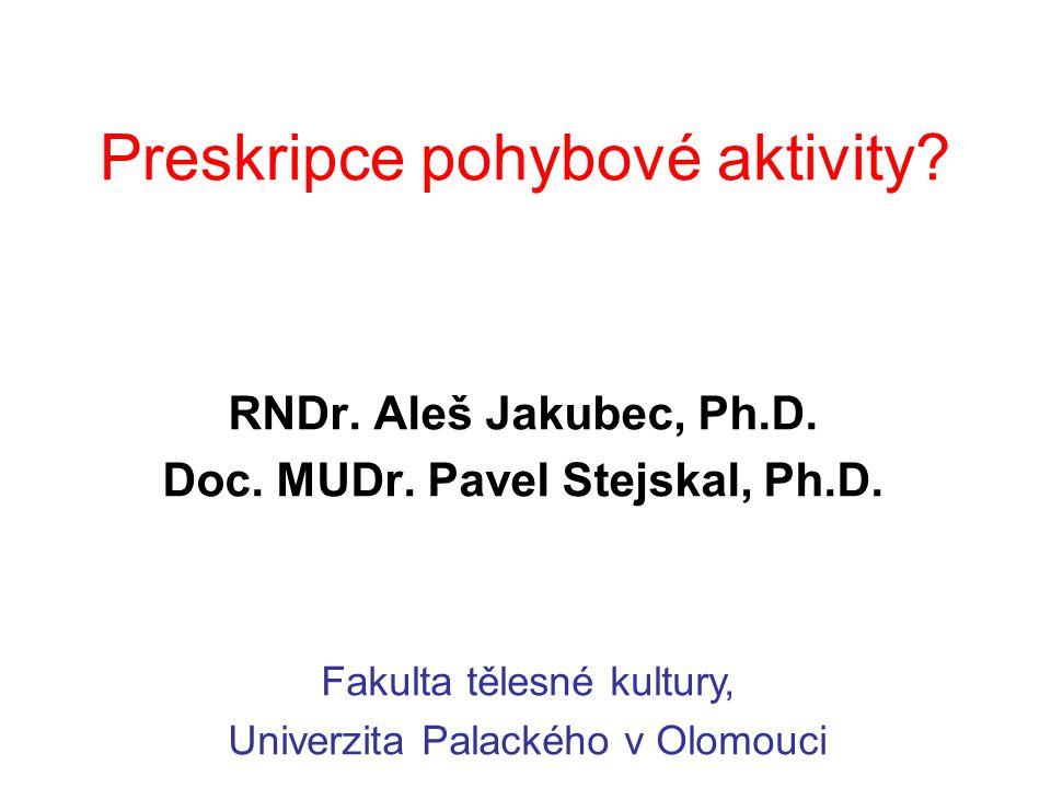 Preskripce pohybové aktivity