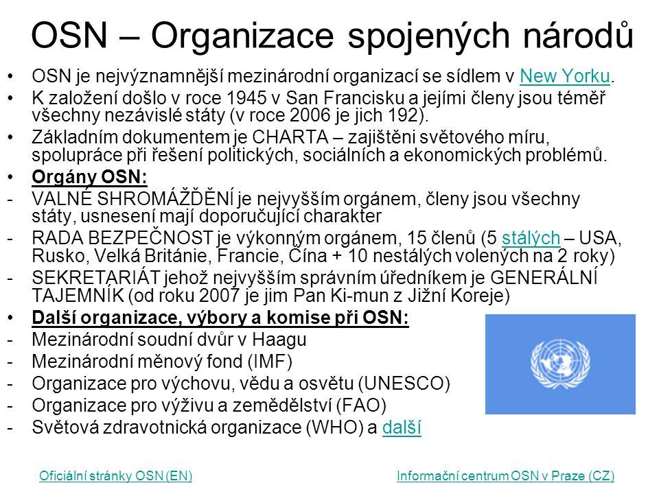 OSN – Organizace spojených národů