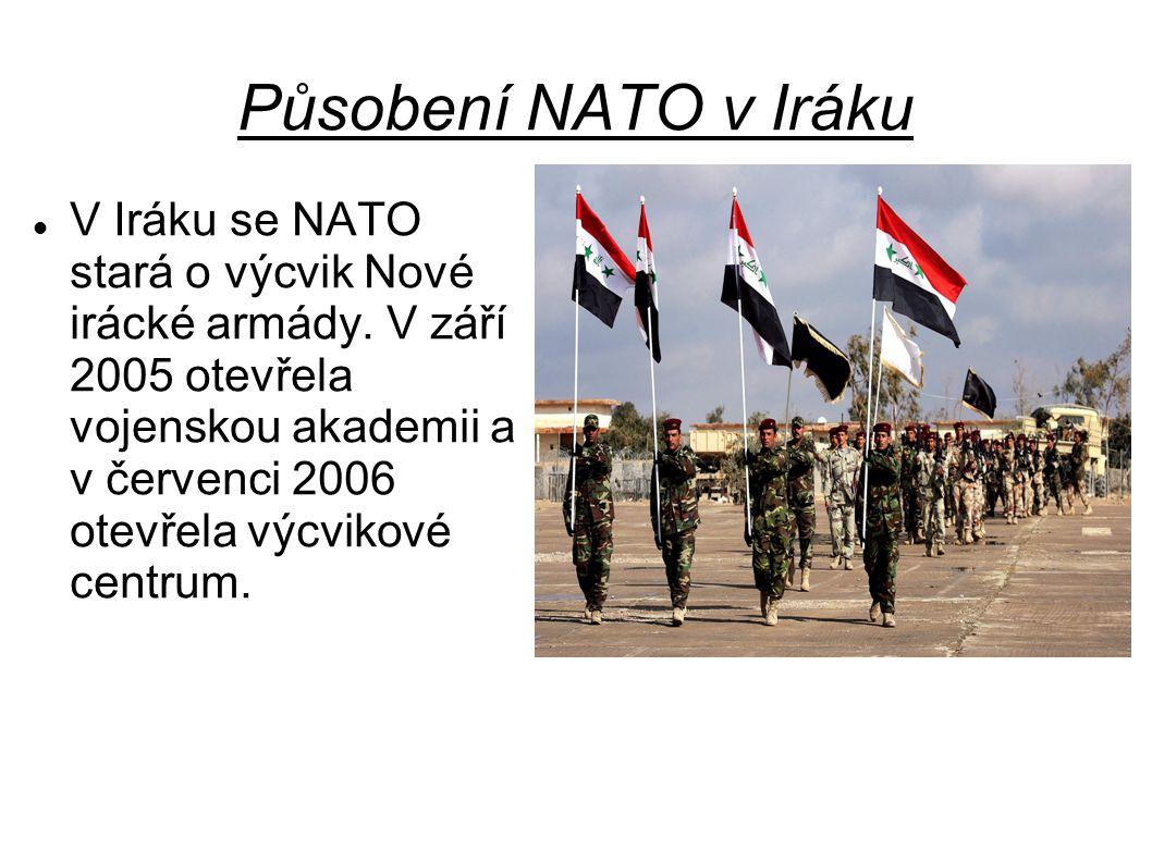 Působení NATO v Iráku