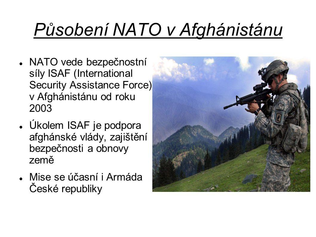 Působení NATO v Afghánistánu