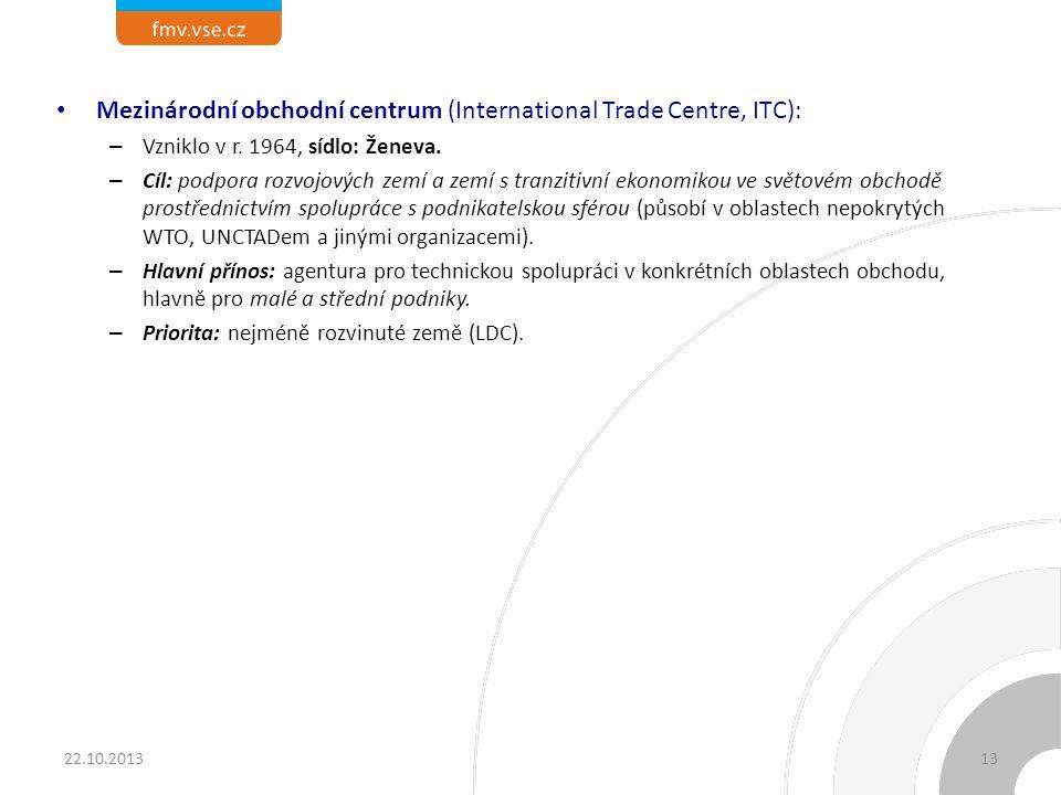 Světová celní organizace (World Customs Organization, WCO):