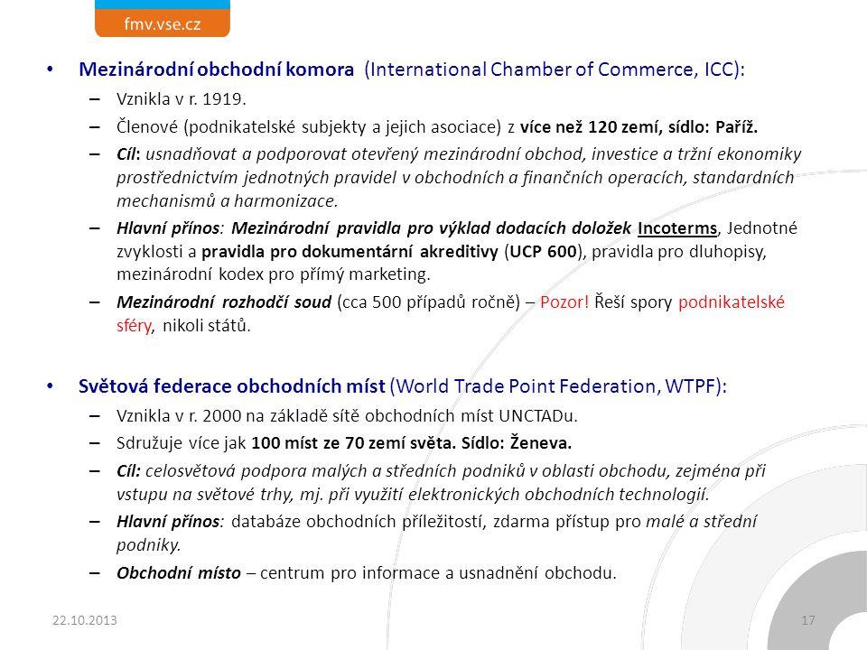 Mezinárodní ústav pro sjednocení soukromého práva, UNIDROIT (International Institute for the Unification of Private Law)