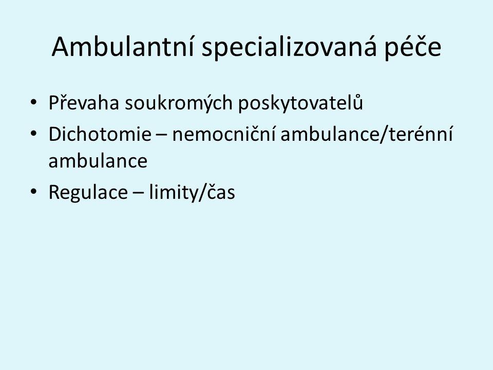 Ambulantní specializovaná péče