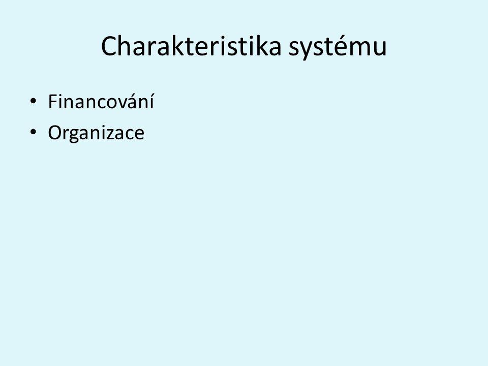 Charakteristika systému
