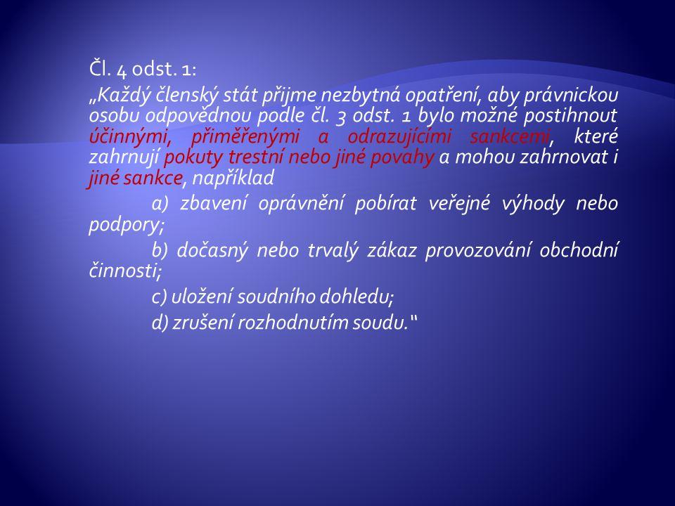Čl. 4 odst.