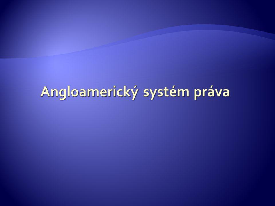 Angloamerický systém práva