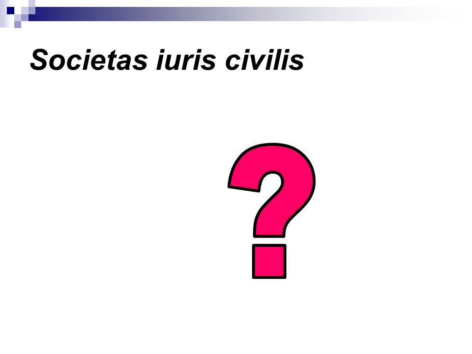 Societas iuris civilis