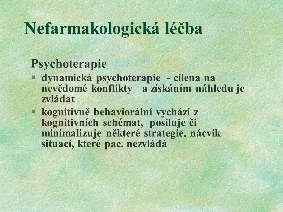Nefarmakologická léčba