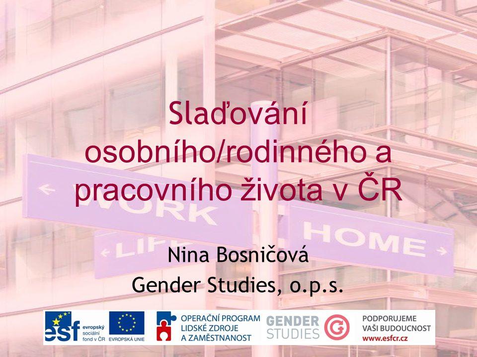 Slaďování osobního/rodinného a pracovního života v ČR