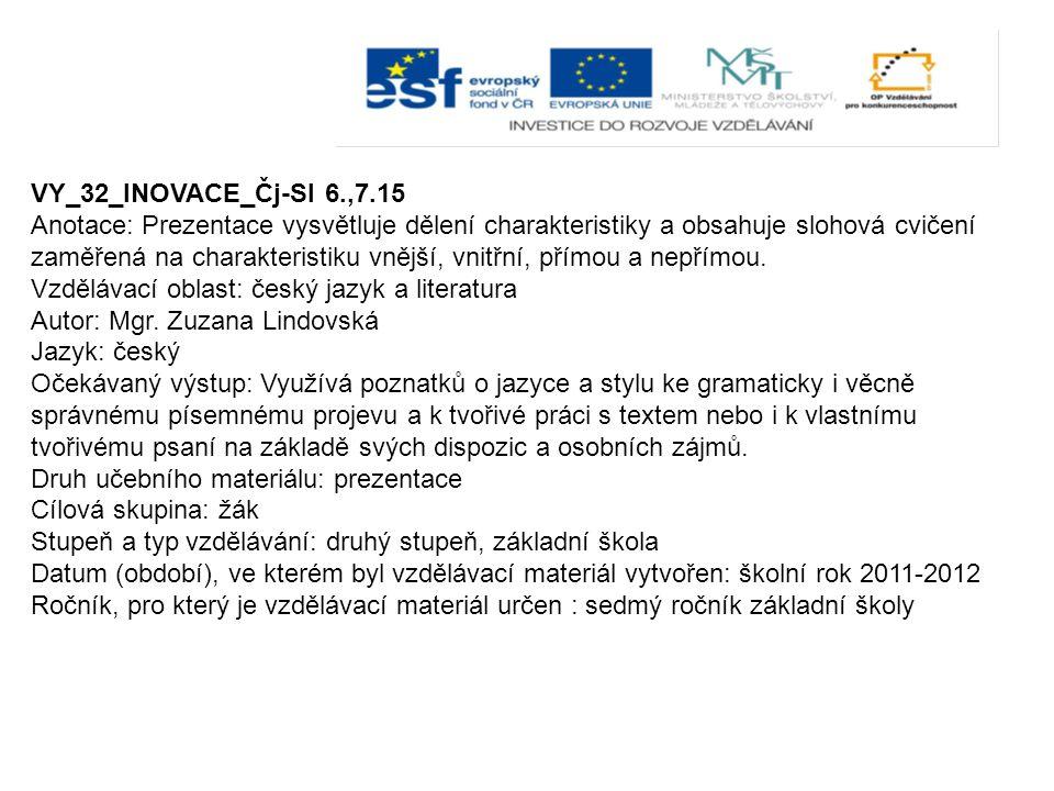 VY_32_INOVACE_Čj-Sl 6.,7.15