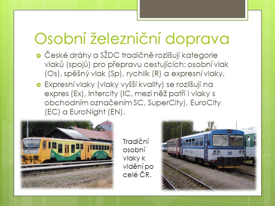Osobní železniční doprava