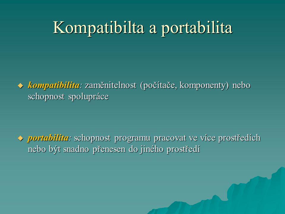 Kompatibilta a portabilita