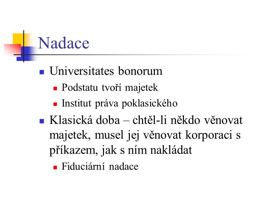 Nadace Universitates bonorum