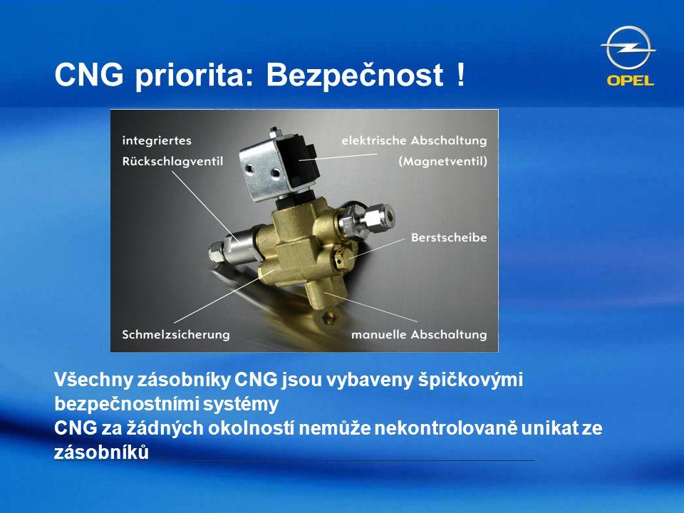 CNG priorita: Bezpečnost !