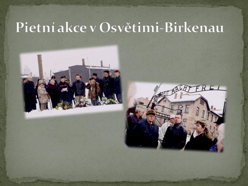 Pietní akce v Osvětimi-Birkenau