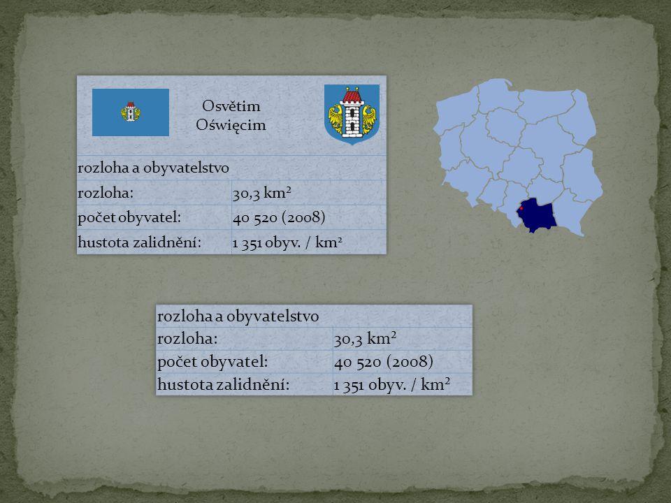 rozloha a obyvatelstvo rozloha: 30,3 km² počet obyvatel: 40 520 (2008)