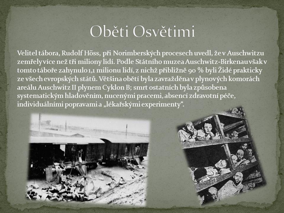 Oběti Osvětimi