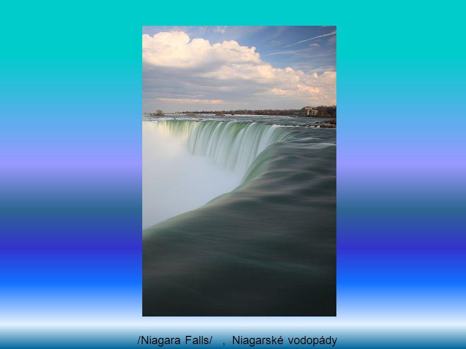 /Niagara Falls/ , Niagarské vodopády