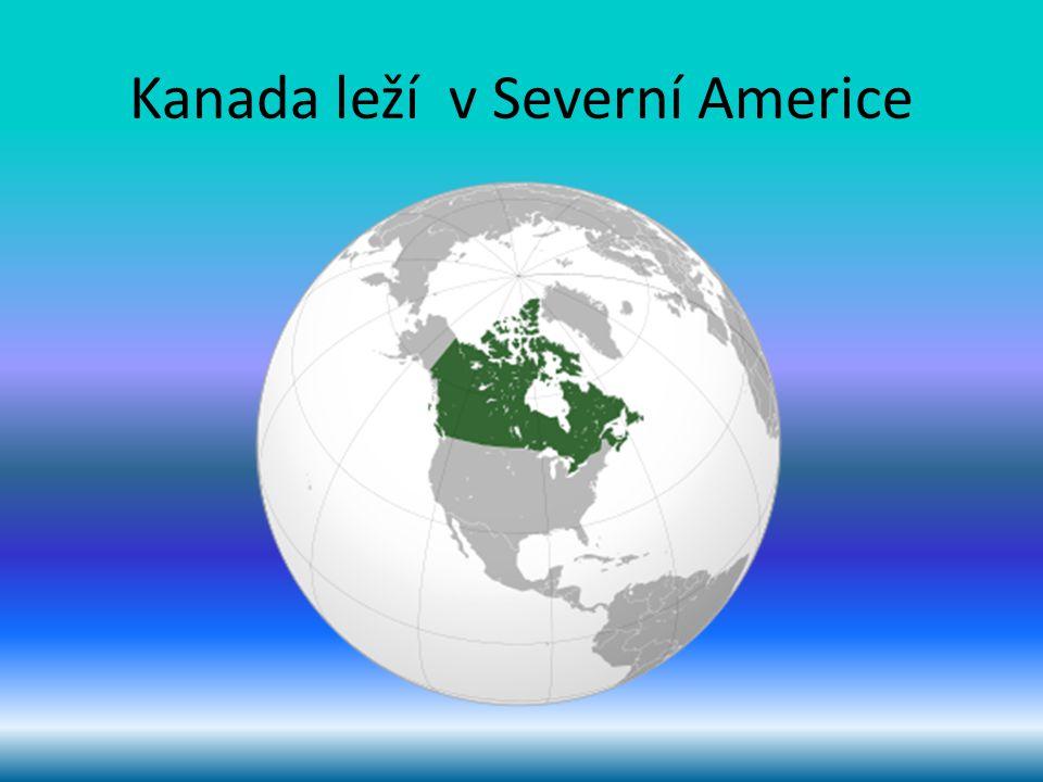 Kanada leží v Severní Americe