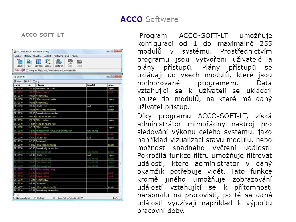 ACCO Software ACCO-SOFT-LT.