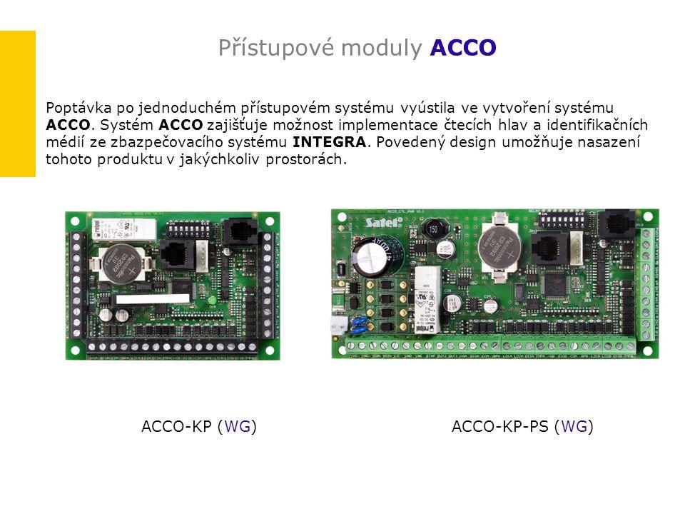 Přístupové moduly ACCO