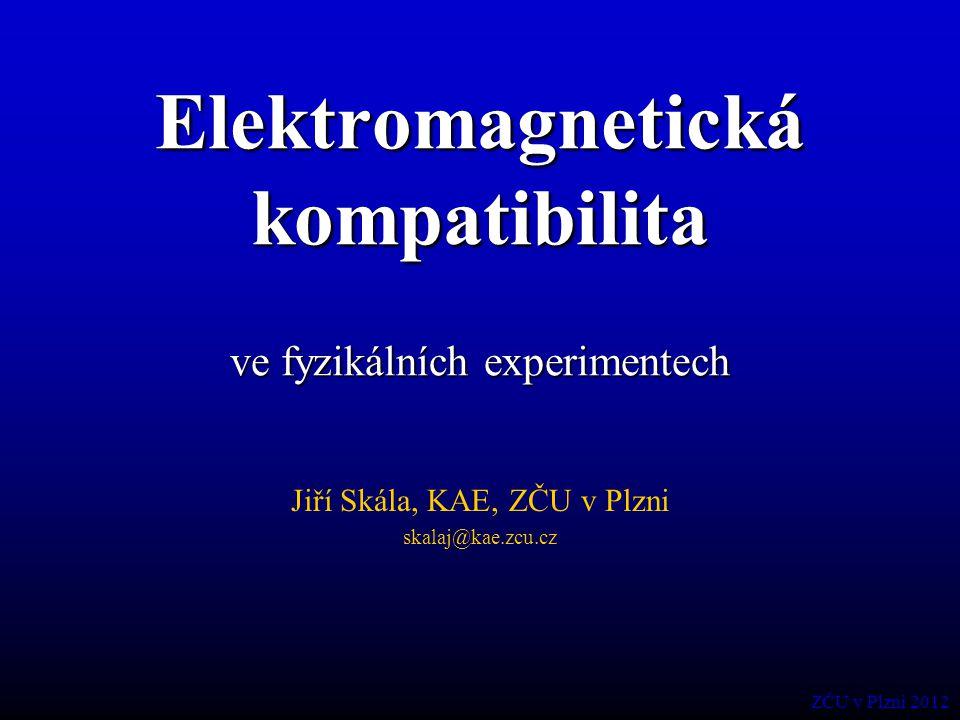 Elektromagnetická kompatibilita ve fyzikálních experimentech