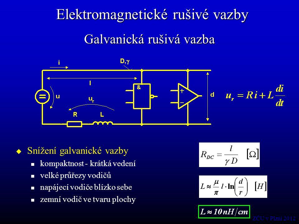 Galvanická rušivá vazba