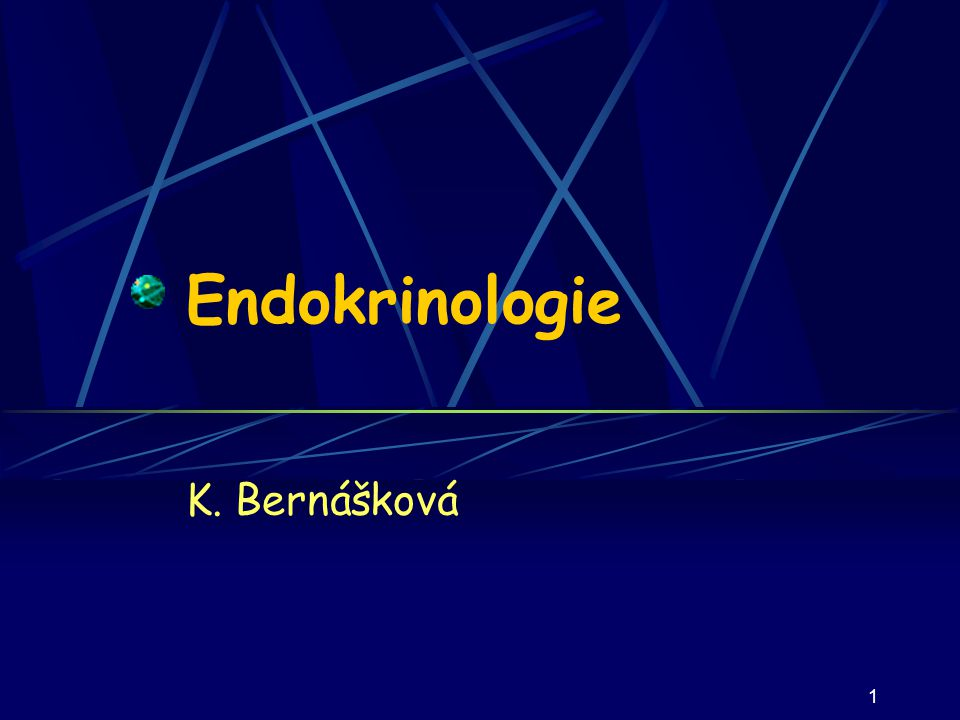 Endokrinologie K. Bernášková